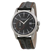 Hamilton Men's H40515731 Railroad Automatic Black Dial Watch