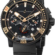 Ulysse Nardin Maxi Marine Diver Black Sea Chronograph 353-95LE...