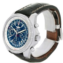 Breitling Bentley Motors Chronograph Blue Dial Mens Watch A25362