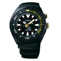 Seiko Herrenuhr Prospex Kinetic GMT Diver SUN045P1