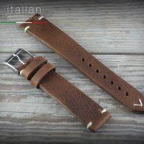 Cinturino pelle vacchetta 18 mm tabacco LS VACCHETTA Cowhide...