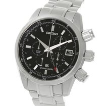 Seiko Grand Seiko Spring Drive GMT Chronograph Steel 43.5MM