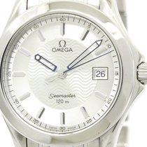 Omega Polished Omega Seamaster 120m Steel Quartz Mens Watch...