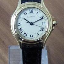Cartier Panthere Cougar 18k Gelbgold kleines Modell revisioniert