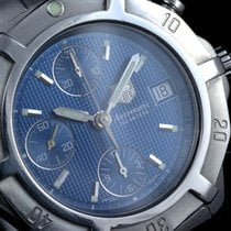 TAG Heuer Exclusive 2000 Automatic Chrono 39mm Blue Dial