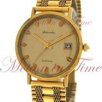Longines Admiral Automatic Vintage, Champagne Dial - 18kt...