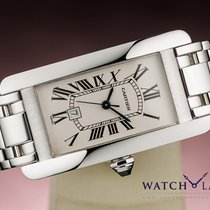 Cartier TANK AMERICAINE AUTOMATIC LADY 18K WHITE GOLD
