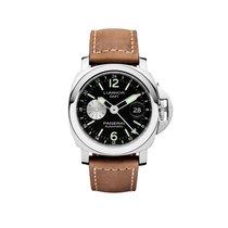 Panerai Luminor GMT Automatic Acciaio  Mens Watch PAM01088