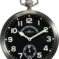 Zeno-Watch Basel ZENO Pilot Pocket Watch Taschenuhr