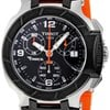 Tissot T Race Chronograph Orange Silicone Strap Ladies ...