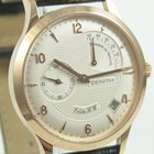 Zenith Elite HW Power Reserve 18 Krt. Rosegold B&P
