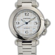 Cartier Pasha C 35mm Stainless Steel REF: 2324 #W31074M7