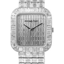 Audemars Piguet Men's White Gold Baguette Pave Watch...