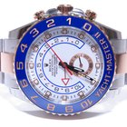 Rolex Yacht-Master II Men's 44mm Blue Rose Gold Stainless