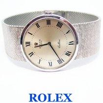 Rolex CHELLINI 18k White Gold Winding Watch Ref.4112 Cal 1600