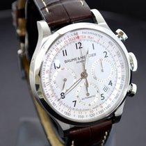 Baume & Mercier B&M Capeland Chronograph White Dial