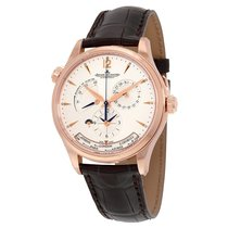 Jaeger-LeCoultre Master Control Geographic Silver Dial 18K...