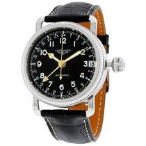 Longines Heritage Avigation Black Dial GMT Automatic Men's...