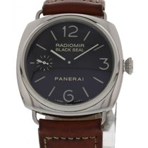 Panerai Men's  Radiomir Black Seal PAM183 Stainless Steel