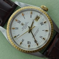 Rolex Date Gold and Stainless Steel