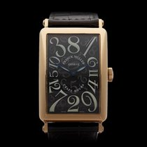 Franck Muller Long Island Crazy Hour 18k Yellow Gold Gents 1200CH