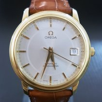 Omega DeVille Prestige Automatic 18K Yellow Gold 34.5MM 168.1050
