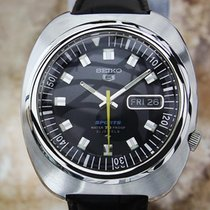 Seiko 5 Sports Men Vintage 1970 Stainless Steel 41mm Japanese...