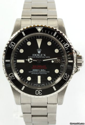 Rolex Sea Dweller Double Red