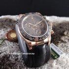 Rolex Daytona 18K Rose Gold Ceramic 116515LN Chocolate ...