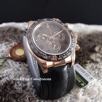 勞力士 (Rolex) Daytona 18K Rose Gold Ceramic 116515LN Chocolate...