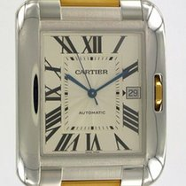 Cartier Tank Anglaise XL Rose Gold/Steel