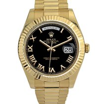 Rolex Day Date II Oyster 41mm Yellow Gold 218238