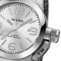 TW Steel TW304 Unisex ZB silber, Edelstahl 10 ATM 40 mm