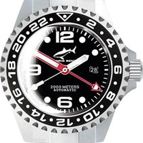 Chris Benz Deep 2000m Automatic GMT Bubble CB-2000A-D2-MB...