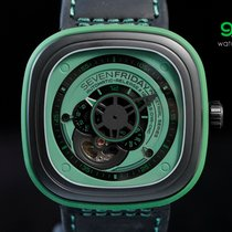 Sevenfriday P1/05 Green & Black Pvd 47mm