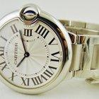 Cartier Ballon Bleu Medium Steel Bracelet 36 mm