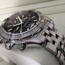 브라이틀링 (Breitling) Blackbird Chronograph Pilotband Steel 44 mm...