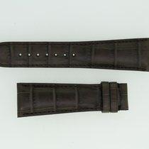 Zenith Lederband / Alligator / Dunkelbraun-23/18 Länge 115/75