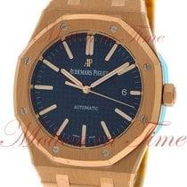 Audemars Piguet Royal Oak Automatic, Blue Dial - Rose Gold on...