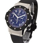 Hublot Super B Black Magic Flyback Chronograph in Steel with...