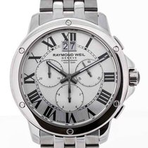 Raymond Weil Tango Chronograph Stainless Steel Silver Dial