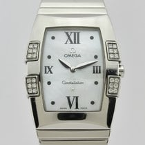 Omega Constellation Quadrella Quartz Steel Lady 15867000