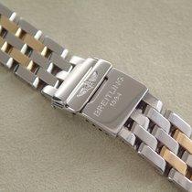 Breitling Pilotband Stahl / Gold 15 mm  B - Class, VP. €...