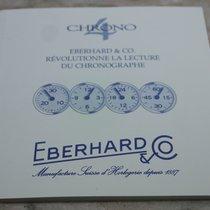 Eberhard & Co. vintage warranty booklet blanc  chrono 4...