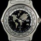 Ebel Platinum Voyager GMT Auto Worldtime Gents Wristwatch B&P
