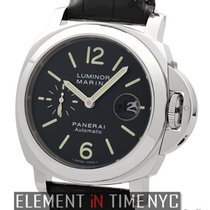 Panerai Luminor Collection Stainless Steel Date Black Dial...