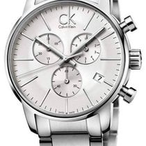 ck Calvin Klein city Herren Chronograph K2G27146