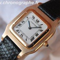 Cartier Santos - Dumont quartz OR 18 K Medium 1990