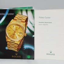 Rolex Oyster Katalog mit Preisliste aus 1996 J.