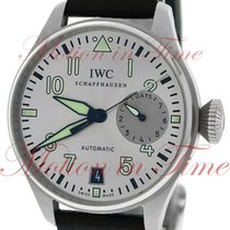 "IWC Big Pilot ""Father"", Silver Rhodium Dial - Stainles..."